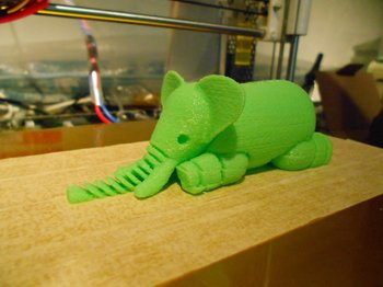 Xl impression 3d d un elephant  1