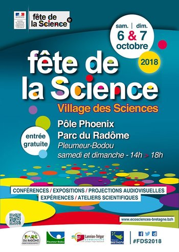 Xl fete de la science affiche web