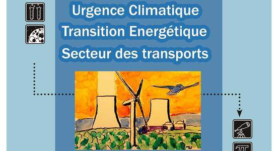Lg urgence climatique transition energ tique transport affiche