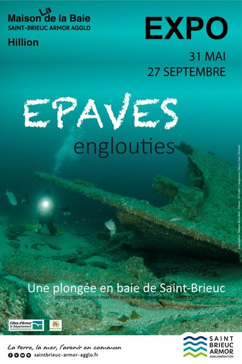 Xl affiche epaves englouties